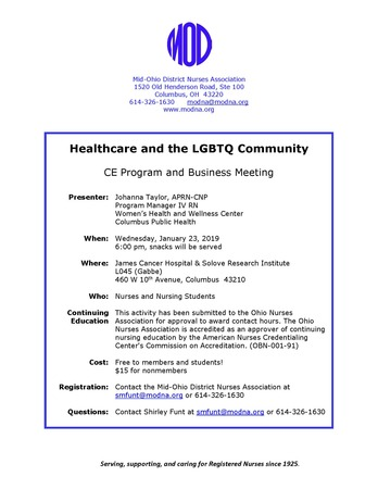 Healthcare and the LGBTQ Community